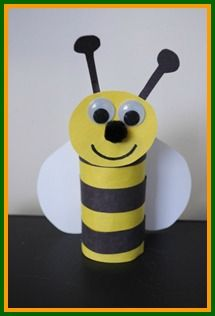 Be all the buzz this spring and create this cute bumble bee, learn how with our Crafty Critters at www.easy-crafts-for-kids.com/kids-spring-crafts.html