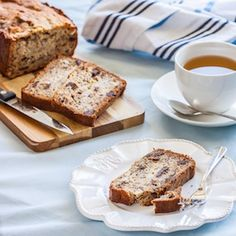 A delicious twist on your traditional Banana Bread Recipe. Banana Bread with Hazelnuts and Chocolate Chunks