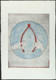 Louise Bourgeois. Wishbone.