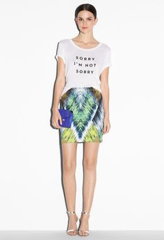 TUBE SKIRT - Skirts and Shorts - Shop By Category MILLY NY