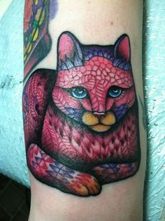 Tattoo...preferably a cat tattoo...this one is beautiful