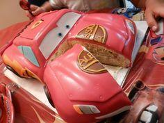 Zuccheri.amo: Tutoria cake Cars LIGHTNING MCQEEN