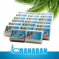 BANABAN Special Bulk Offer - 20 x Mixed Virgin Coconut Oil Soaps - Lemon Myrtle Coconut Oil Products