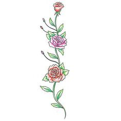 Pics Photos - Vine Tattoos Flower Rose Tribal Tattoo Art Free Download