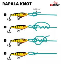 Fishing Knots Braid, Best Fishing Knot, Fishing Line Knots, Rope Knots, Strongest Fishing Knots, Crappie Fishing Tips, Fishing Rigs, Fishing Guide, Fishing Stuff