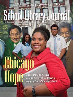 K.C. Boyd, Chicago school librarian October 2014
