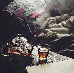 my morning // tea