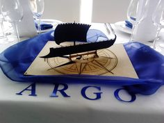"""Centre de taula """"ARGO"""" www.eventosycompromiso.com"""