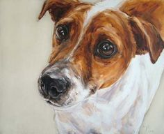 Jack Russell painting If you love dogs as much as we do, please visit… Jack Russell Terrier, Jack Russell Dogs, Animal Paintings, Animal Drawings, Dog Wallpaper, Dog Store, Dog Illustration, Cartoon Dog, Watercolor Animals