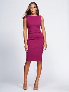 4804a32f6af Shirred Sheath Dress - Gabrielle Union Collection