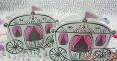 100pcs Carriage  Favor Box  favour Wedding box pumpkin Carriage wedding box