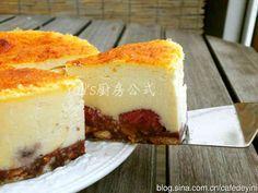混ぜるだけ作れるニューヨークチーズケーキの画像