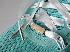 Nike Women's Marathon 2012 Limited Edition Shoes - look at that Tiffany blue and ribbon laces!