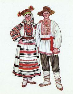 Национальные костюмы волынь
