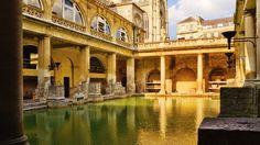 Римские термы в Бате, Великобритания - Путешествуем вместе
