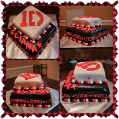 One direction cake     by: What Cake! Bakery