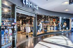 Lamina store design Helsinki Helsinki, Basketball Court, Retail, Home Decor, Decoration Home, Room Decor, Sleeve, Retail Merchandising, Interior Decorating