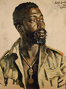 """Job Masego, a native of South Africa, volunteered for the Native Military Corps during World War II and was captured along with 32,000 other men at Tobruk by Rommel. While a prisoner of war he devised a bomb from a milk tin and cordite  and was able to blow up a German cargo ship in the Tobruk harbor on July 21, 1942. For this he was recommended for the Victoria Cross but since he was """"only an African"""" received the British Military Medal."""
