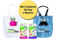 Win A Celebrity Gift Bag From alternaVites (2 Winners)