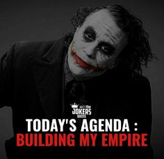 Best Joker Quotes, Badass Quotes, Best Quotes, Today Quotes, Life Quotes, Dark Quotes, Attitude, Thoughts, My Love