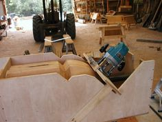 Cutting a tight radius on the end of beams | Tool Forum | Timber Frame Forums