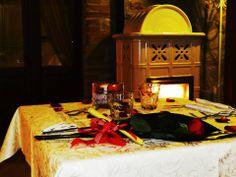 Cena Romantica a San Valentino al Ristorante Romantico Taverna di Bibbiano tra Colle di val d'Elsa e San Gimignano, Siena.