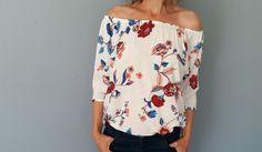 floral cotton top.found in #Kaboo fashion
