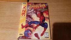 SPIDERMAN WEB OF FIRE SEGA 32X