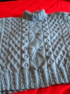 My latest Starmore, for the Cables Galore knitalong @NaturalStitches