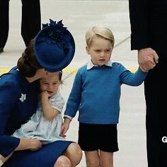 The Cambridge family arrives in Canada for the Royal Tour   Septiember 24, 2016.