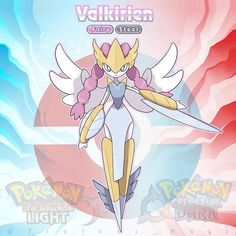 Your Falhalla evolved!Meet VALKIRIEN, the Sky Paladin Pokémon.Will Valkirien be part of your team?Swipe to know more about it! Pokemon Rpg, Pokemon Fake, Pokemon Pokedex, Pokemon People, Pokemon Comics, Pokemon Memes, Pokemon Fan Art, Pokemon Fusion, Play Pokemon