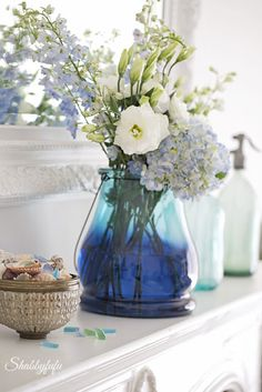 Transition To Spring With Blue