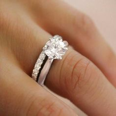Gorgeous yet classy and a 1.20 ct would be perfect!