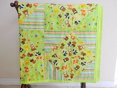 Handmade Woodland Baby Quilt Woodland Baby by HollyHomemadeGoodies, $65.00
