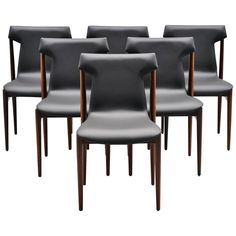 Inger Klingenberg IK Dining Chairs Fristho Franeker, 1960 | From a unique collection of antique and modern chairs at https://www.1stdibs.com/furniture/seating/chairs/