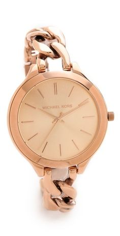 Michael Kors Slim Runway Twist Watch | SHOPBOP