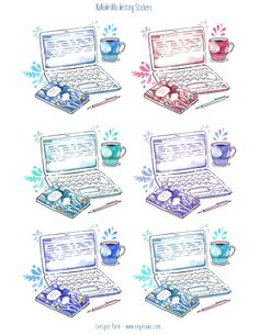nanowrimo-writing-large-stickers.PNG 2,550×3,300 pixels
