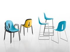 Gotham Side Chair c/w Sled Base | Contract Furniture Store
