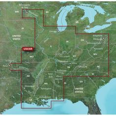 Garmin BlueChart® g2 Vision® HD - VUS036R - Inland Rivers -. BlueChart® g2 Vision® HD - VUS036R - Inland Rivers - microSD™/SD™Coverage:Detailed main channel coverage of the major rivers of the interior of the United States as part of the Great Circle Route. Coverage includes the Ohio, Illinois, Tombigbee, Black Warrior, and Atchafalaya Rivers in their entirety, as well as the Tenn-Tom Waterway in full. Coverage also features the Mississippi River from its junction with the Illinois above St…