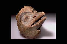 Before AMNH collection. Arte Inuit, Inuit Art, Native Indian, Native Art, Haida Art, Tlingit, Native Design, Animal Masks, Indigenous Art