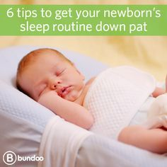 Did you know sleeping through the night isn't expected during the first 6 months? But check out these 6 things you can do to help your baby sleep better early on.
