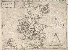 vintage and antique maps of Scotland #maps #scotland #geography