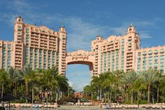 It's possible to go to amazing places because of our love of travel!  We loved Atlantis!