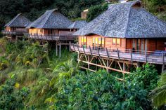 """Legends Resort - Moorea, French Polynesia--beautiful villas...bring your own mosquito nets...they wont provide them and the rooms are very """"open air""""..."""