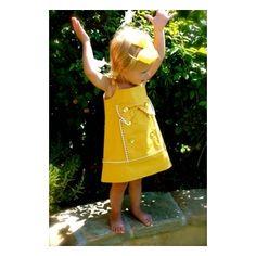 Φόρεμα 'Sunny Sunshine Shift' της La Petite Couture - Couture Collection - MyPetitBoutique | Όλα για το Μωρό & το Παιδί