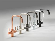 Pronteau 3 IN 1 hot taps from Abode are the perfect solution to retro-fit and replace an old model. Available in five finishes and two styles So why not come and visit the team at Saksons and see our Pronteau 3 IN 1 tap on display. Kitchen Mixer, Kitchen Taps, Copper Kitchen, New Kitchen, Kitchen Appliances, Kitchens, Bathroom Trends 2018, Sink Taps, Sinks