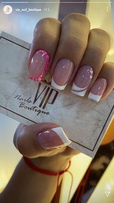 Pink Acrylic Nails, Shellac Nails, Manicure, Nail Polish, Home Nail Salon, Trendy Nails, Short Nails, Nail Inspo, Nail Art Designs
