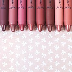 Which shade are you trying to get nude with? (L to R: racy, undressed, pure, envy, bare, revealed, exposed, whisper) Our NEW LipSurgence lippie lingeries, available now at @ULTAbeauty! #tartecosmetics #kisses #lingerie #lipstick