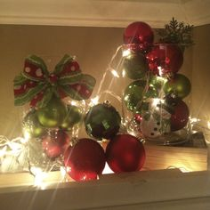 christmas kitchen cabinets | On top of my kitchen cabinets. | Holiday Love