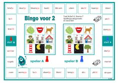 De spellingswoorden en de bijpassende categorieën nog eens herhalen met deze bingo voor 2. Sluit aan bij thema 7 van groep 4. Circuit, Humor, Education Quotes, Bingo, Maria Montessori, Letters, Carl Jung, Nelson Mandela, School